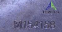 Original JOHN DEERE Mulch Messer-Satz 97 cm Seitenauswurf AM141040