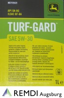 SAE 5W-30 JOHN DEERE Motoröl Turf-Gard MCTY25121 Inhalt 1 Liter