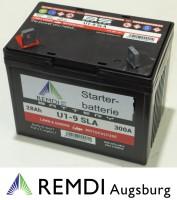 Starterbatterie (AGM) für JOHN DEERE Rasentraktor 12V 28AH