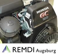 Honda Industrie Motor ca. 5,2 PS(HP) (früher 6 PS) GC190 Serie Welle 19,05/46