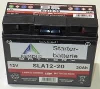 Starterbatterie SB18120002/1 (AGM) für JOHN DEERE / Sabo Rasentraktor 12V 20AH