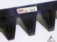 ESM Mähmesser Ersatzmesser Balkenmäher 122 cm 251 0270