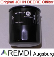 Original JOHN DEERE Motorölfilter AM107423