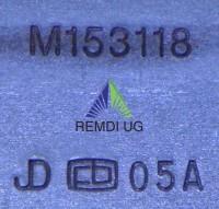 Original JOHN DEERE Standard Messer-Satz 97 cm Seitenauswurf AM141039