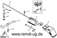 Original JOHN DEERE Mulchsatz BM20686, LTR180, LTR166, LTR155