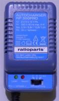 Ladegerät für Rasenmäher Starterbatterie 2V, 6V und 12V 300 mA