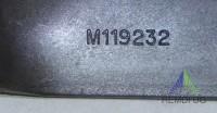 Original JOHN DEERE Mulch Messer-Satz 117 cm Seitenauswurf M119232