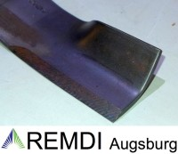 Original JOHN DEERE High-Lift Messer-Satz 157 cm Seitenauswurf M152727